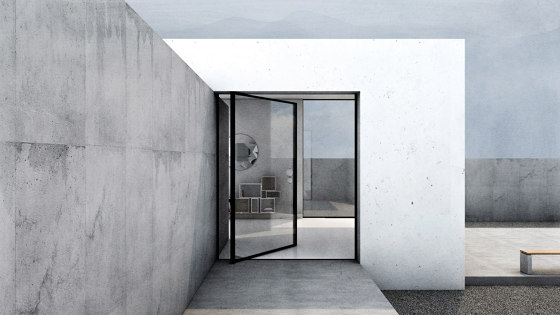 Pivoting Frame   AXIS by Orama Minimal Frames   Window types