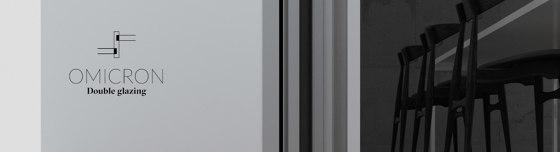 Double Glazing  | OMICRON by Orama Minimal Frames | Window types