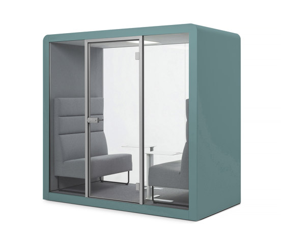 Space 2 | Aquamarine by Silen | Office Pods