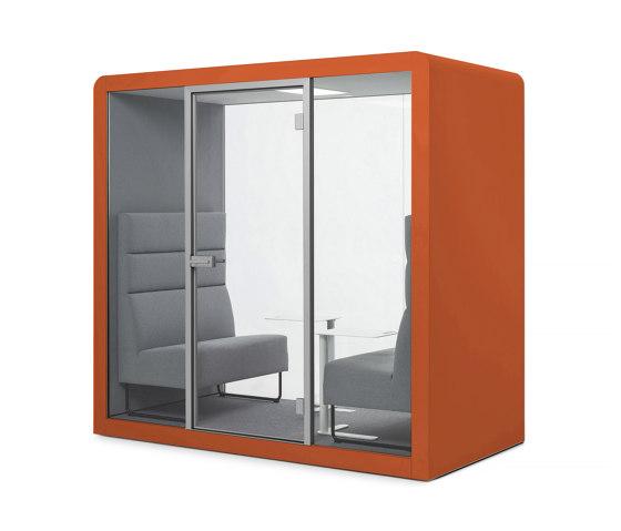 Space 2 | Burnt Orange by Silen | Office Pods