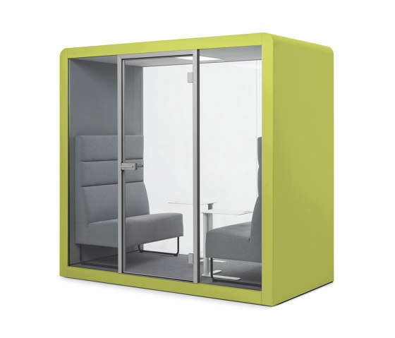 Space 2 | Citrus Green by Silen | Office Pods