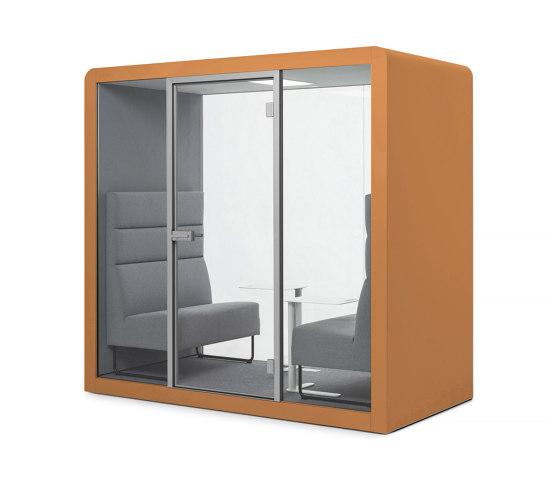 Space 2 | Orange by Silen | Office Pods