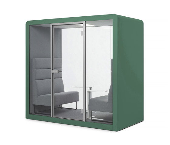 Space 2 | Signal Green by Silen | Office Pods