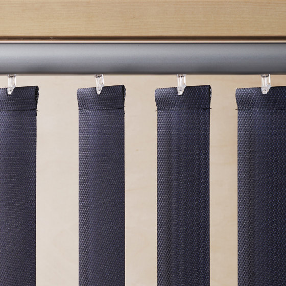 System R | Vertical Blinds by Ann Idstein | Cord operated systems