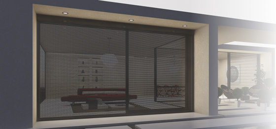 Smartia   M13800 by ALUMIL   Integrated roller blinds