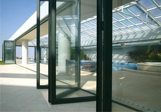 Smartia | M19800 by ALUMIL | Patio doors