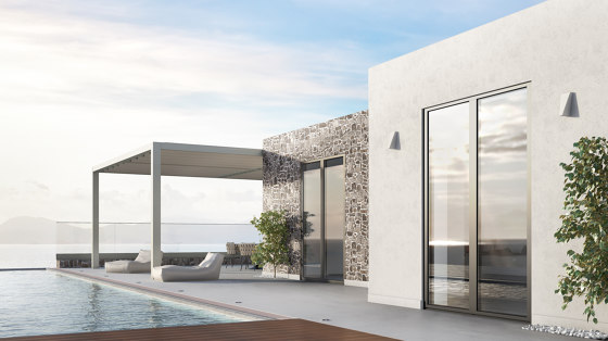 Smartia | S67 Phos by ALUMIL | Patio doors