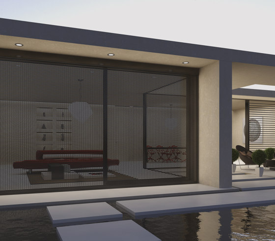 Smartia | S13600 by ALUMIL | Integrated roller blinds