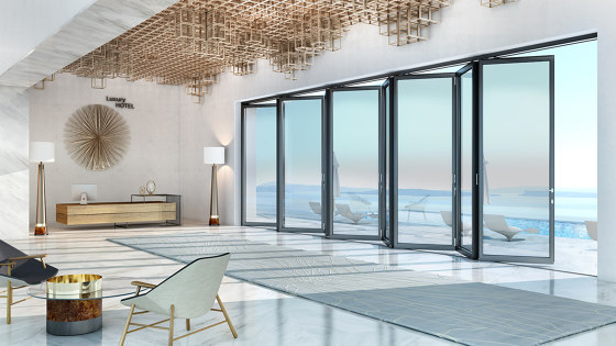 Supreme | SF85 by ALUMIL | Patio doors