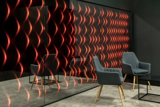 ETTLIN LUX® Mirrorglass | Mirrorwall for individual design concepts by ETTLIN LUX® | Mirrors