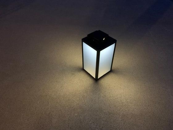 SOLAR lantern | LAS 500 black by LYX Luminaires | Outdoor floor lights