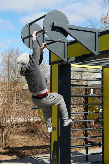 Punto Fit | Multifunctional workout rig – 2 meters by Punto Design | Upper body equipment