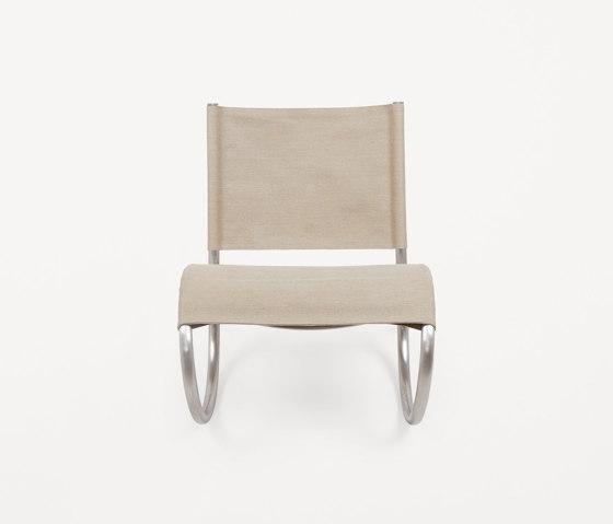Richardt Chair | Raw Steel | Canvas by Frama | Armchairs