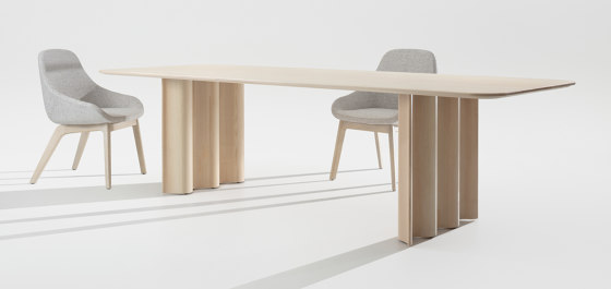 Curtain by Zeitraum | Dining tables