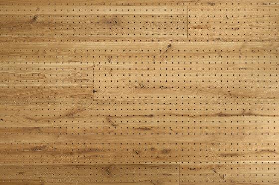 ACOUSTIC Dot Oak rustic brushed by Admonter Holzindustrie AG | Wood panels
