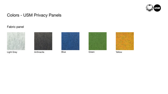 USM Privacy Panels | Yellow by USM | Privacy screen