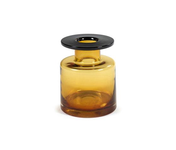 Wind & Fire Vase Amber / Black by Serax | Vases