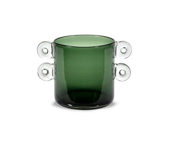Wind & Fire Vase Dark Green by Serax   Vases