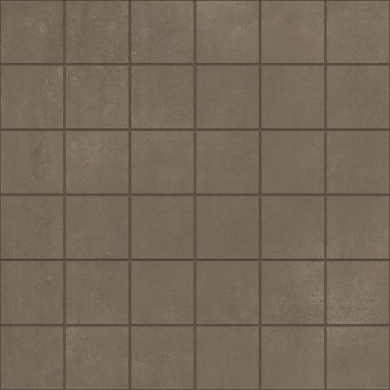 Metallique | Mosaic 30x30 Brune by Kronos Ceramiche | Ceramic tiles