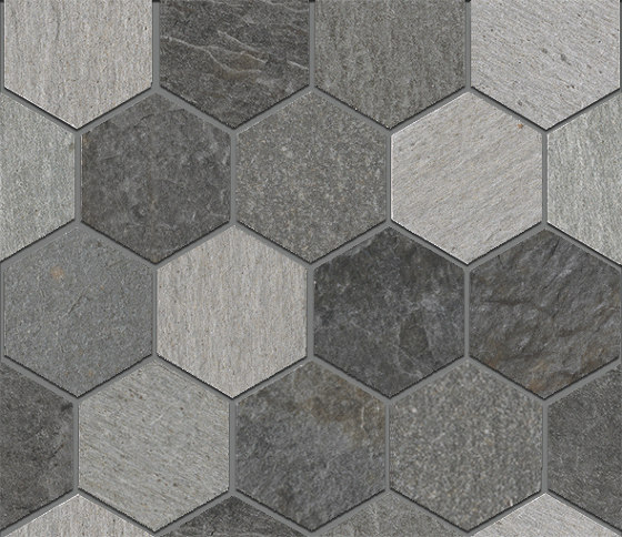 Rocks | Exa Mix Dark by Kronos Ceramiche | Ceramic tiles