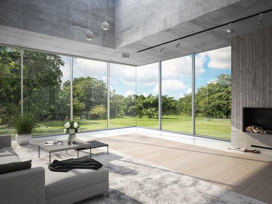 Panorama Design Facade | FWS 35 PD by SCHÜCO | Window types