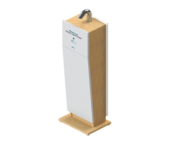 Classic Hand Sanitizer Stand by Stern Engineering | Infection prevention
