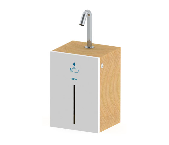 Csaba WM Hand Sanitizer Station by Stern Engineering | Infection prevention