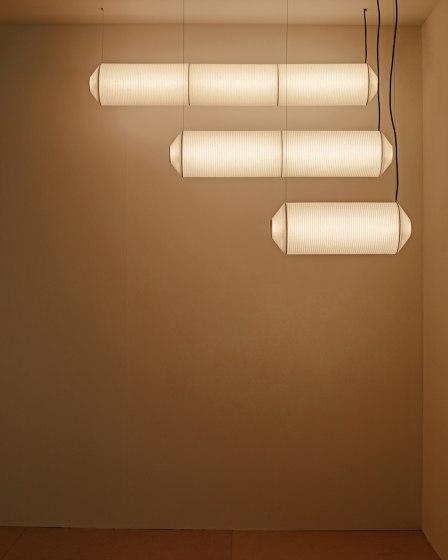 Tekiò Horizontal   Pendant Lamp by Santa & Cole   Suspended lights