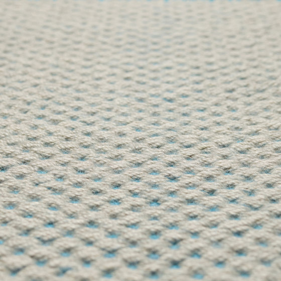 Chester - Celestial blue turquoise by Bomat   Rugs