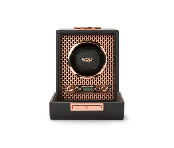 Axis Single Winder | Copper by WOLF | Storage boxes