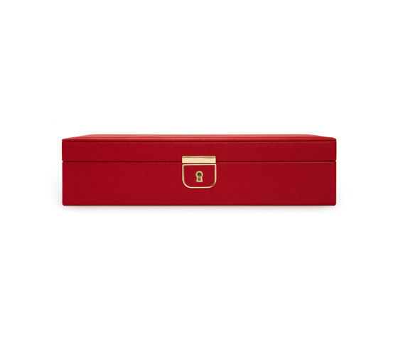 Palermo Medium Jewelry Box | Red by WOLF | Storage boxes