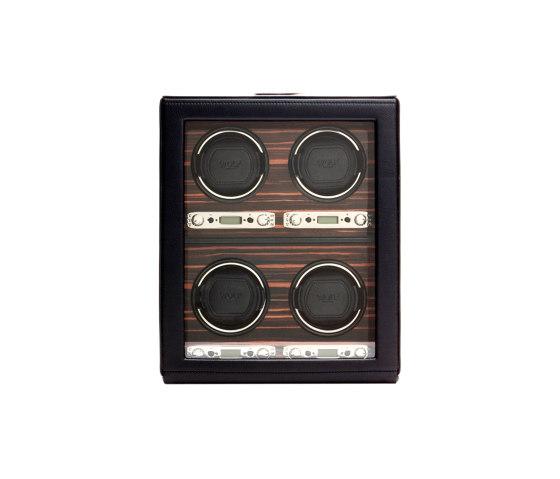 Roadster 4 Piece Winder   Black by WOLF   Storage boxes