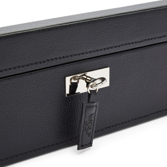 Roadster 8 PC Watch Box | Black by WOLF | Storage boxes