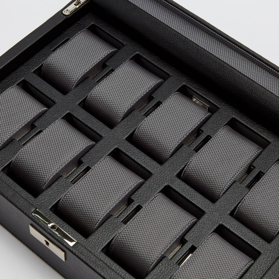 Viceroy 10 PC Watch Box   Black by WOLF   Storage boxes