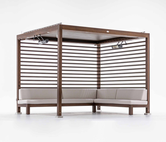 Equinox Cabana - Automated Louvered Roof by TUUCI | Gazebos