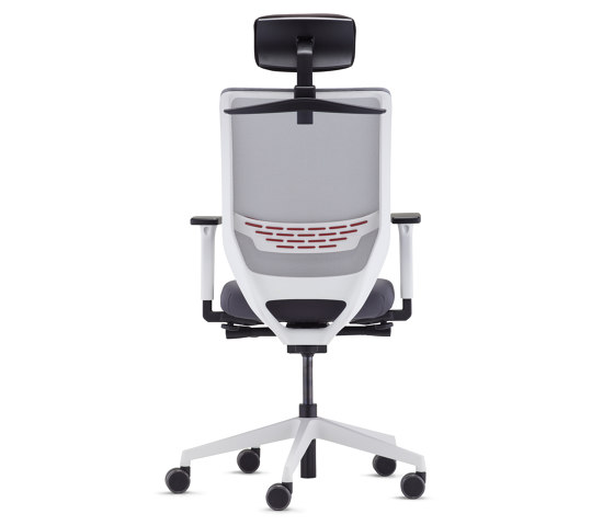 to-sync mesh white by TrendOffice | Office chairs