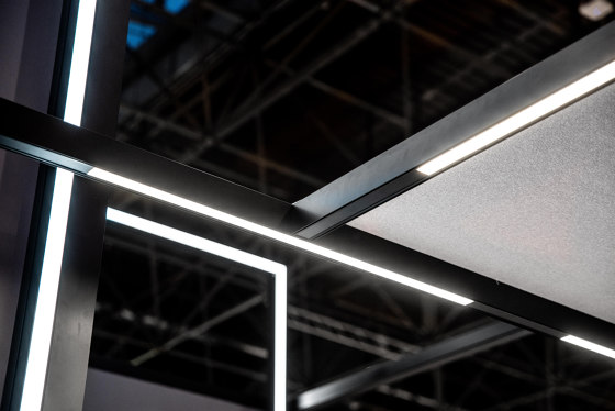 Acoustic Frames by MODULAP   Sound absorbing ceiling systems