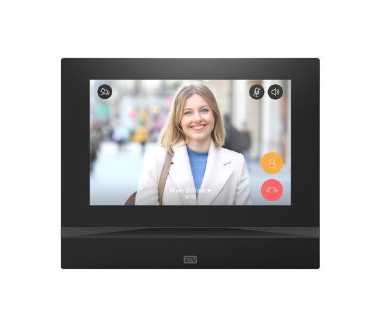 2N® Indoor View – Black Version by 2N Telekomunikace | Intercoms (interior)