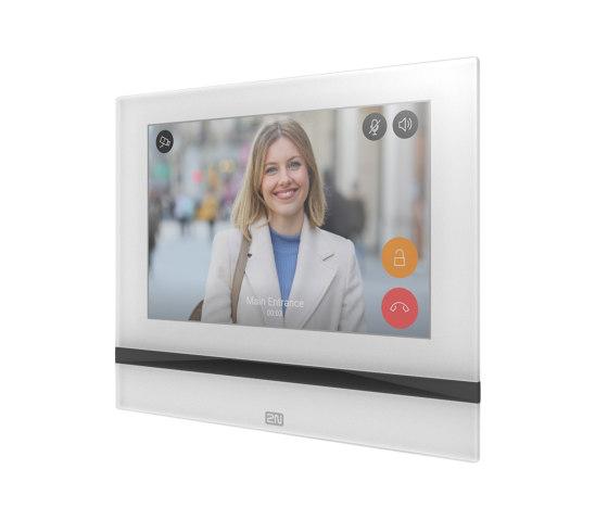 2N® Indoor View – White Version by 2N Telekomunikace | Intercoms (interior)