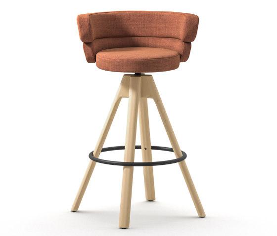 Dam ST 4WL by Arrmet srl   Bar stools