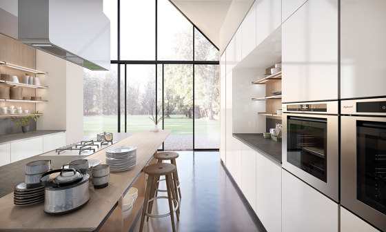 Lain Multisystem by Euromobil   Fitted kitchens