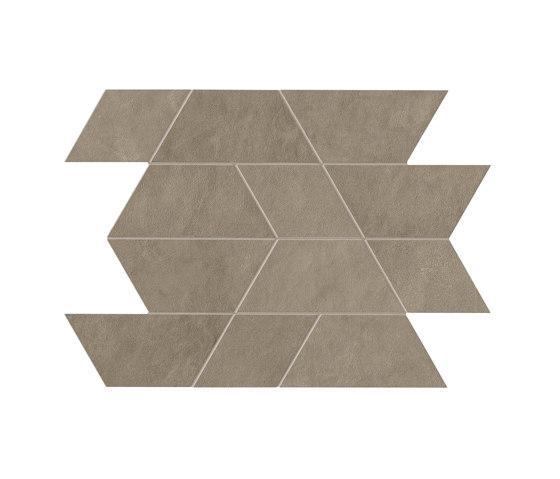 Prism Suede Mosaico Maze 31x44,6 Silk by Atlas Concorde | Ceramic mosaics