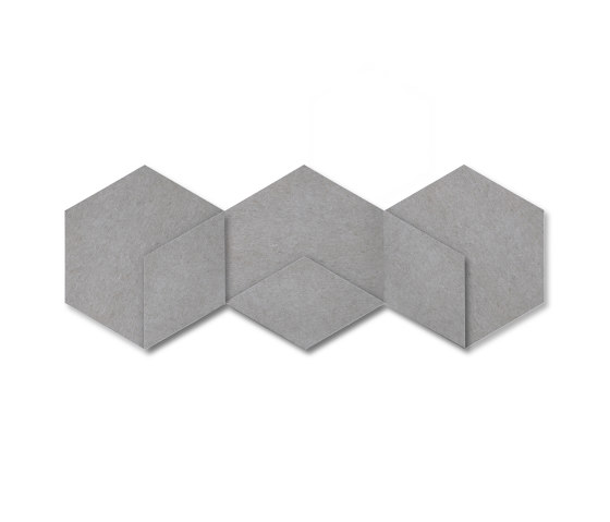 Heksagon Panel Cuboid 3 G1 by SIINNE | Sound absorbing objects