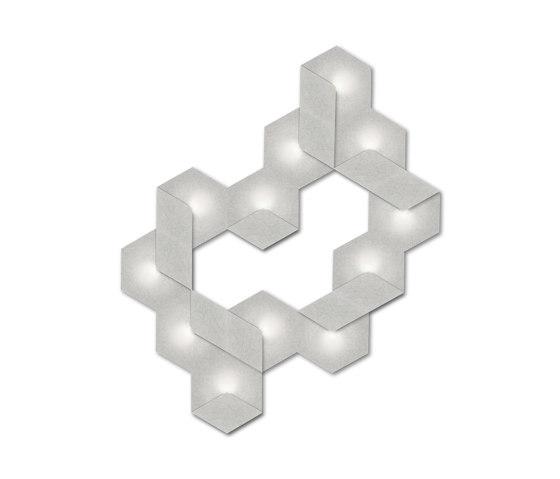 Heksagon Light 12 G by SIINNE | Wall lights