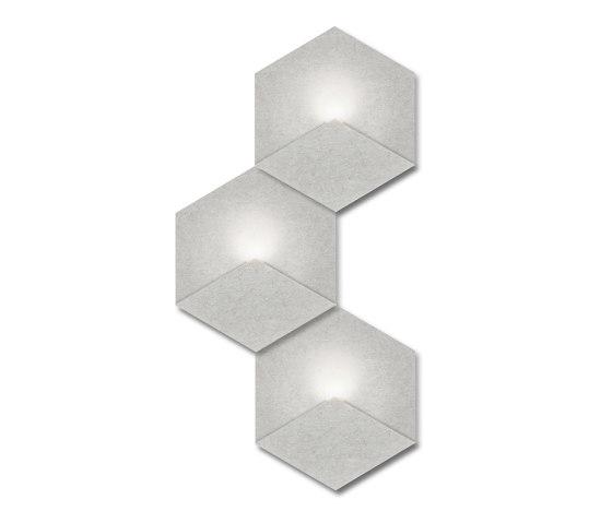 Heksagon Light 3 G1 by SIINNE   Wall lights