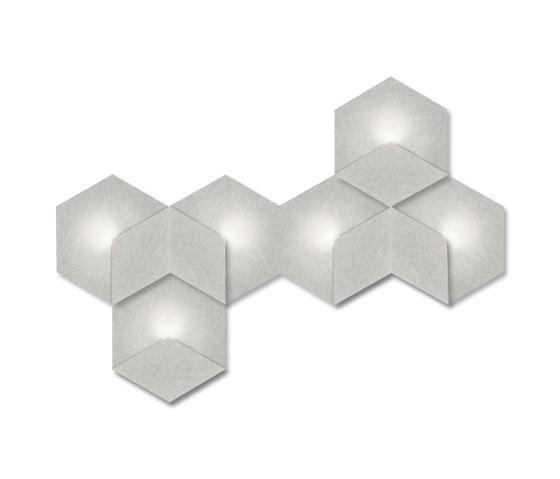 Heksagon Light 6 G1 by SIINNE | Wall lights