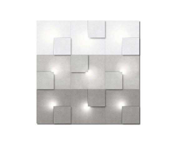 Neliö Light 9 by SIINNE | Wall lights