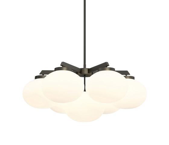 Cloudesley chandelier medium bronze by CTO Lighting   Chandeliers