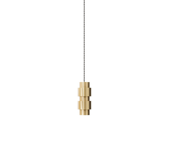 Ring pendant satin brass by CTO Lighting | Suspended lights