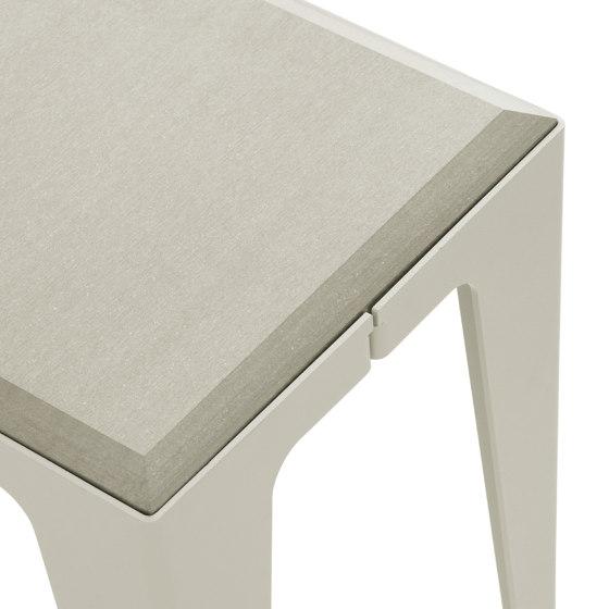 |chamfer| Stool Silk-Grey by WYE | Side tables